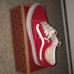 Vans Color Red/White
